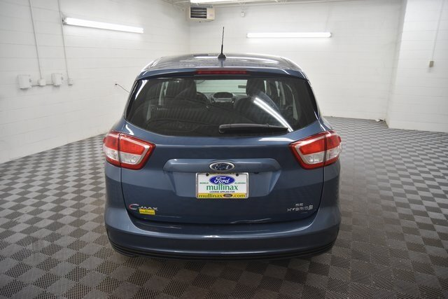 2018 Blue Metallic Ford C-Max Hybrid SE Automatic (CVT) 4 Door Hatchback 2.0L I4 Atkinson-Cycle Hybrid Engine
