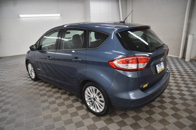 2018 Blue Metallic Ford C-Max Hybrid SE Hatchback FWD Automatic (CVT) 4 Door