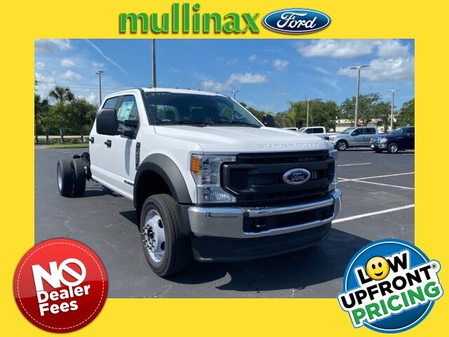 2021 Oxford White Ford Super Duty F-550 DRW XL Automatic Truck RWD Power Stroke 6.7L V8 DI 32V OHV Turbodiesel Engine