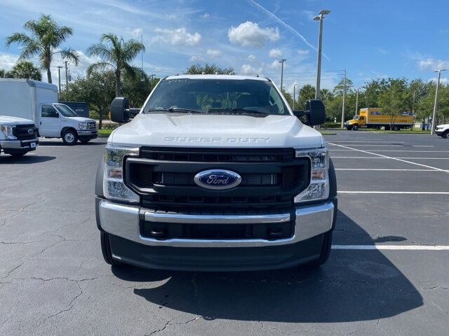 2021 Ford Super Duty F-550 DRW XL RWD Automatic Truck 4 Door