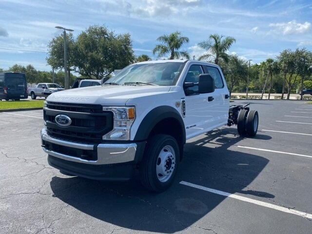 2021 Ford Super Duty F-550 DRW XL RWD Power Stroke 6.7L V8 DI 32V OHV Turbodiesel Engine 4 Door Truck Automatic