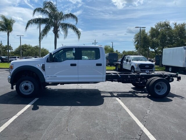 2021 Oxford White Ford Super Duty F-550 DRW XL Automatic 4 Door Power Stroke 6.7L V8 DI 32V OHV Turbodiesel Engine Truck