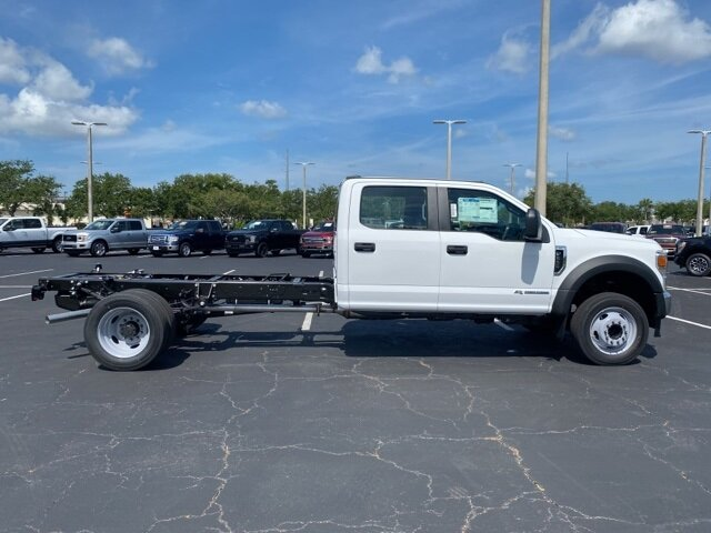 2021 Oxford White Ford Super Duty F-550 DRW XL Truck Automatic Power Stroke 6.7L V8 DI 32V OHV Turbodiesel Engine