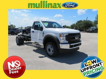 2021 Oxford White Ford Super Duty F-550 DRW XL Automatic Power Stroke 6.7L V8 DI 32V OHV Turbodiesel Engine 2 Door RWD Truck