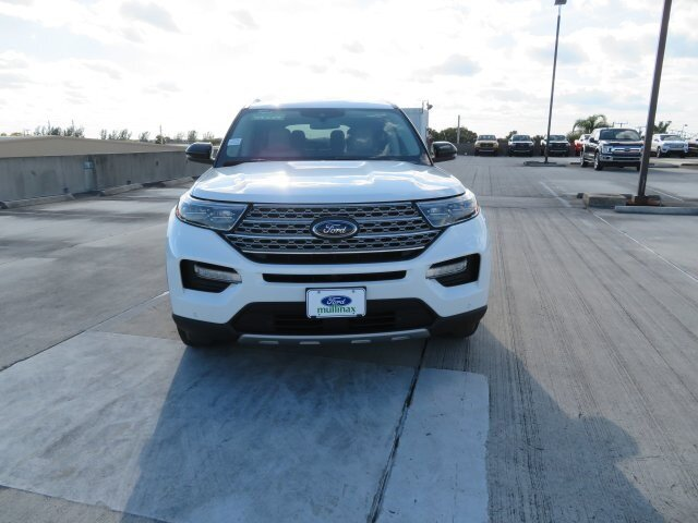 2021 Star White Metallic Tri-Coat Ford Explorer Limited RWD SUV 3.0L I4 PDI Hybrid Turbocharged DOHC 16V LEV3-ULEV70 300hp Engine 4 Door Automatic