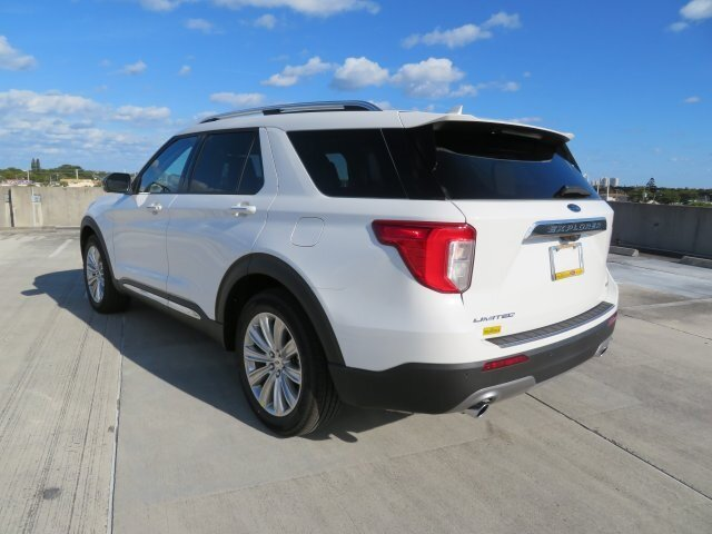 2021 Ford Explorer Limited SUV Automatic 3.0L I4 PDI Hybrid Turbocharged DOHC 16V LEV3-ULEV70 300hp Engine 4 Door RWD