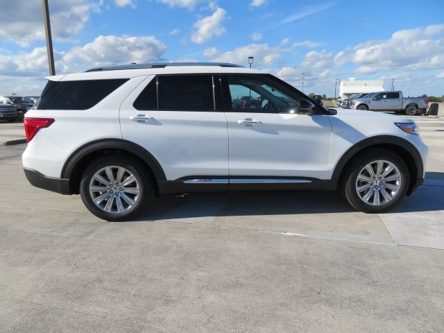 2021 Ford Explorer Limited 3.0L I4 PDI Hybrid Turbocharged DOHC 16V LEV3-ULEV70 300hp Engine SUV RWD Automatic 4 Door