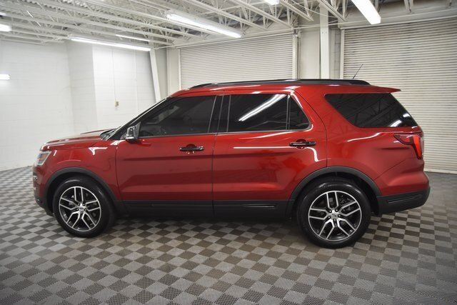 2019 Ford Explorer Sport SUV 4 Door 3.5L Engine 4X4 Automatic