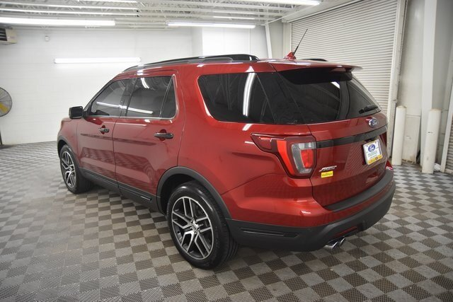 2019 Ford Explorer Sport 3.5L Engine Automatic 4 Door 4X4