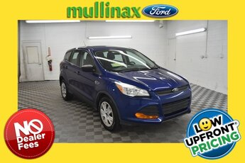 2015 Ford Escape S Duratec 2.5L I4 Engine 4 Door FWD Automatic SUV