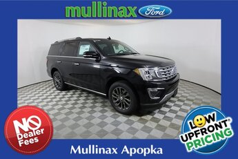2021 Black Ford Expedition Limited Automatic SUV RWD EcoBoost 3.5L V6 GTDi DOHC 24V Twin Turbocharged Engine
