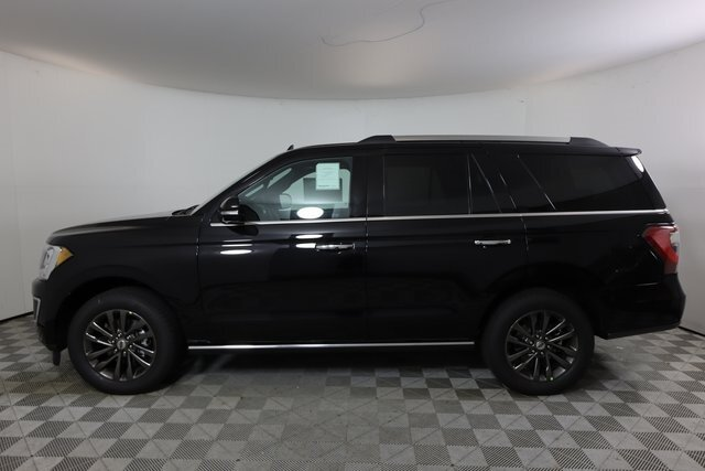 2021 Black Ford Expedition Limited SUV RWD EcoBoost 3.5L V6 GTDi DOHC 24V Twin Turbocharged Engine Automatic