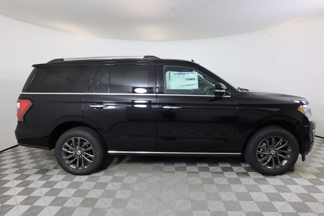 2021 Black Ford Expedition Limited EcoBoost 3.5L V6 GTDi DOHC 24V Twin Turbocharged Engine SUV 4 Door Automatic RWD