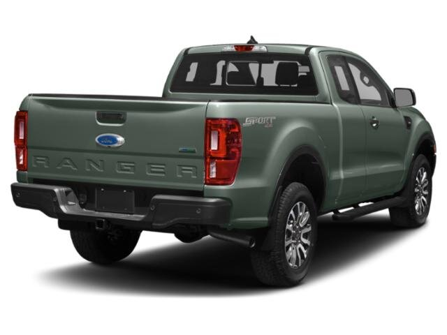 2021 Cactus Gray Ford Ranger XLT Automatic RWD 4 Door EcoBoost 2.3L I4 GTDi DOHC Turbocharged VCT Engine Truck