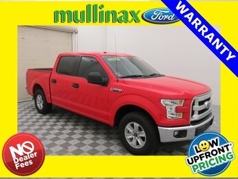 2017 Race Red Ford F-150 XLT 3.5L V6 Ti-VCT Engine Truck 4 Door RWD Automatic