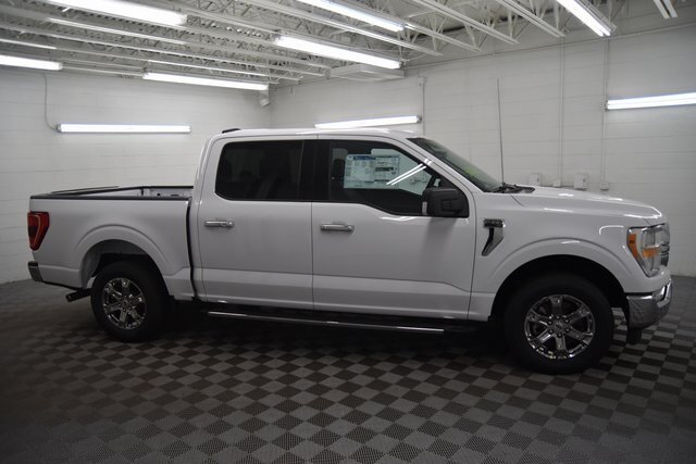 2021 OXFORD WHITE Ford F-150 XLT Automatic Truck 3.3L V6 Engine 4 Door