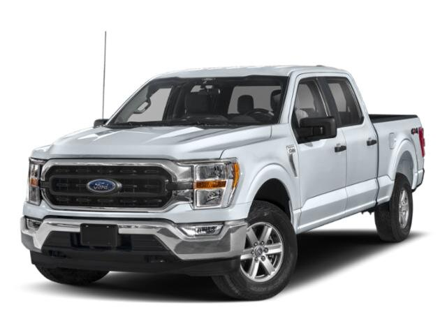 2021 Space White Metallic Ford F-150 XLT 4 Door 2.7L V6 EcoBoost Engine RWD