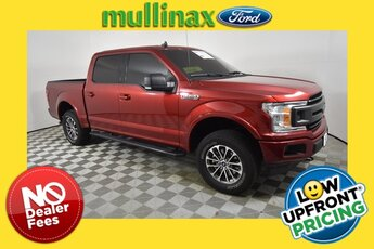 2019 Ruby Red Metallic Tinted Clearcoat Ford F-150 XLT Truck Automatic 4 Door EcoBoost 2.7L V6 GTDi DOHC 24V Twin Turbocharged Engine 4X4