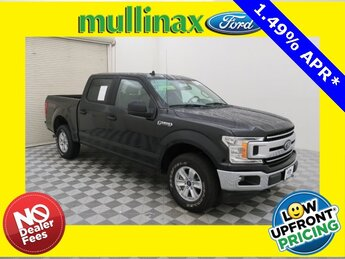 2019 Agate Black Metallic Ford F-150 XLT 4 Door 2.7L V6 EcoBoost Engine 4X4 Automatic Truck
