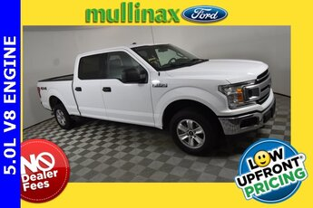 2018 Oxford White Ford F-150 XLT 4 Door 4X4 Automatic 5.0L V8 Engine Truck