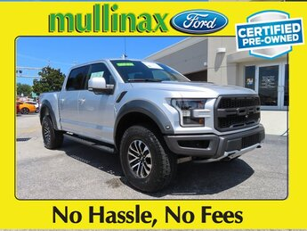 2019 Ford F-150 Raptor Automatic 4 Door EcoBoost 3.5L V6 GTDi DOHC 24V Twin Turbocharged Engine 4X4 Truck
