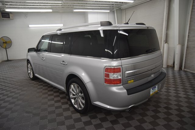 2018 Ingot Silver Metallic Ford Flex Limited Automatic 4 Door AWD SUV