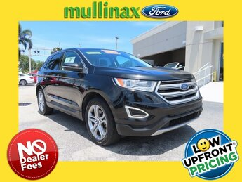2015 Tuxedo Black Metallic Ford Edge Titanium Automatic FWD 3.5L V6 Ti-VCT Engine 4 Door