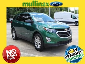 2018 Ivy Metallic Chevrolet Equinox LS 1.5L DOHC Engine 4 Door FWD