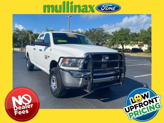 2013 Bright White Clearcoat Ram 2500 Tradesman 4 Door HEMI 5.7L V8 VVT Engine Truck Automatic 4X4