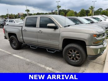 2017 Pepperdust Metallic Chevrolet Silverado 1500 LT EcoTec3 5.3L V8 Engine Truck 4X4 4 Door Automatic