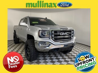 2017 Quicksilver Metallic GMC Sierra 1500 SLT EcoTec3 5.3L V8 Engine Truck 4 Door 4X4 Automatic