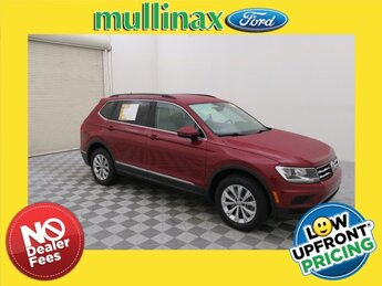 2018 Cardinal Red Metallic Volkswagen Tiguan 2.0T SE 2.0L TSI DOHC Engine Automatic FWD