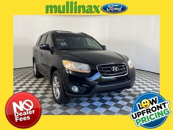 2011 Phantom Black Metallic Hyundai Santa Fe Limited SUV 4 Door 3.5L V6 DOHC 24V Engine