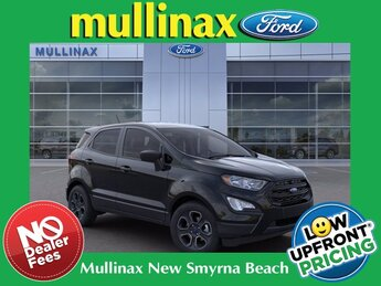 2021 Ford EcoSport S EcoBoost 1.0L I3 GTDi DOHC Turbocharged VCT Engine FWD Automatic SUV 4 Door