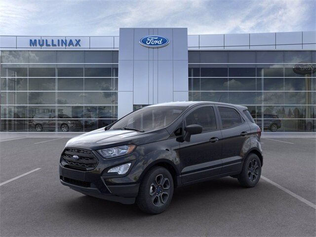 2021 Shadow Black Ford EcoSport S SUV Automatic FWD EcoBoost 1.0L I3 GTDi DOHC Turbocharged VCT Engine 4 Door