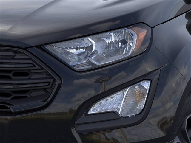 2021 Shadow Black Ford EcoSport S SUV EcoBoost 1.0L I3 GTDi DOHC Turbocharged VCT Engine 4 Door
