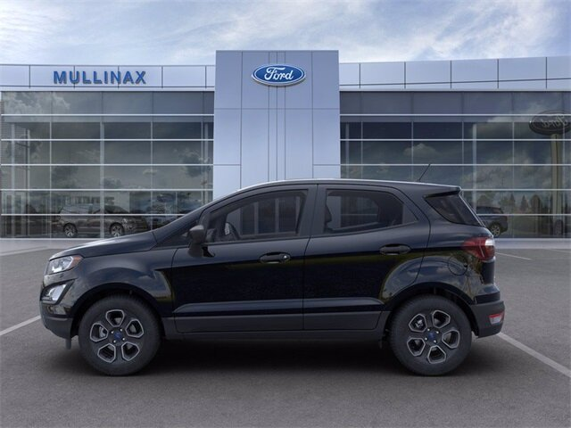 2021 Shadow Black Ford EcoSport S Automatic 4 Door EcoBoost 1.0L I3 GTDi DOHC Turbocharged VCT Engine FWD SUV
