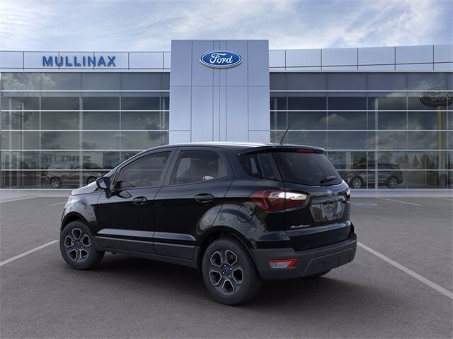 2021 Ford EcoSport S SUV EcoBoost 1.0L I3 GTDi DOHC Turbocharged VCT Engine 4 Door FWD Automatic