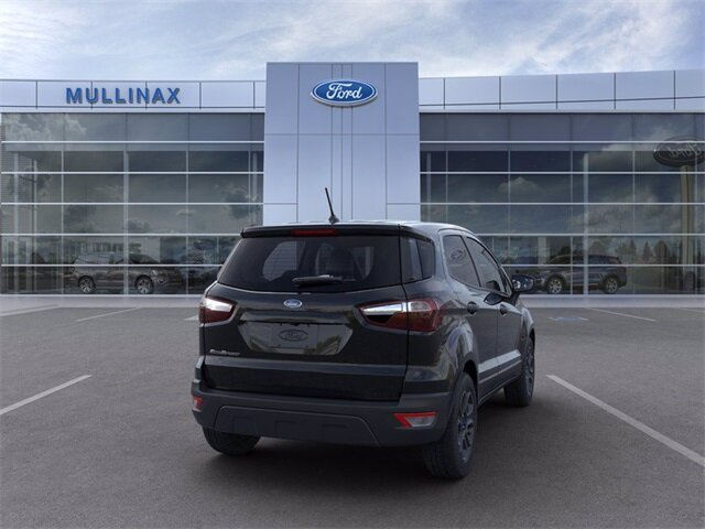 2021 Ford EcoSport S EcoBoost 1.0L I3 GTDi DOHC Turbocharged VCT Engine FWD SUV