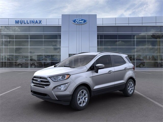2021 Moondust Silver Metallic Ford EcoSport SE Automatic 4 Door EcoBoost 1.0L I3 GTDi DOHC Turbocharged VCT Engine