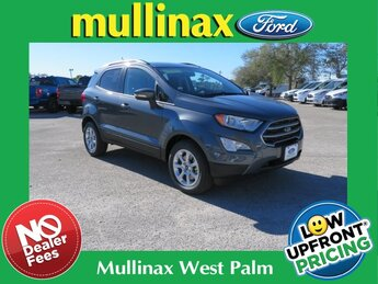 2021 Ford EcoSport SE EcoBoost 1.0L I3 GTDi DOHC Turbocharged VCT Engine Automatic 4 Door FWD