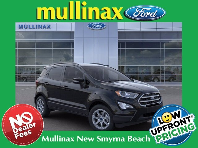 2021 Shadow Black Ford EcoSport SE 4 Door Automatic EcoBoost 1.0L I3 GTDi DOHC Turbocharged VCT Engine FWD SUV