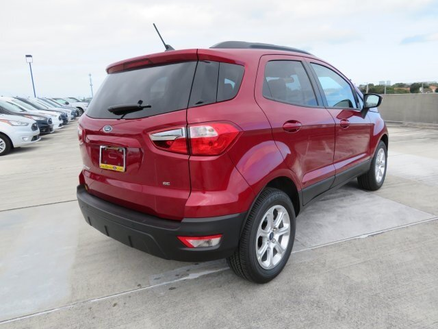 2021 Ford EcoSport SE 4 Door Automatic EcoBoost 1.0L I3 GTDi DOHC Turbocharged VCT Engine FWD