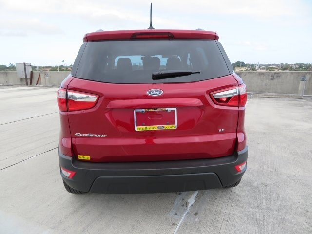 2021 Ford EcoSport SE FWD 4 Door EcoBoost 1.0L I3 GTDi DOHC Turbocharged VCT Engine SUV