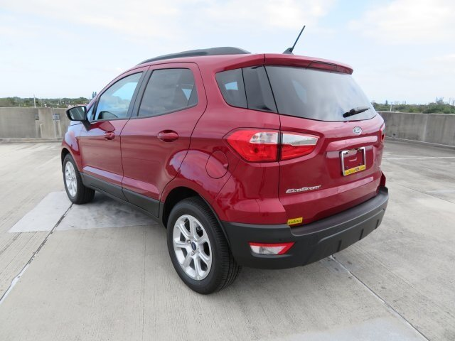 2021 Ford EcoSport SE 4 Door EcoBoost 1.0L I3 GTDi DOHC Turbocharged VCT Engine FWD Automatic SUV