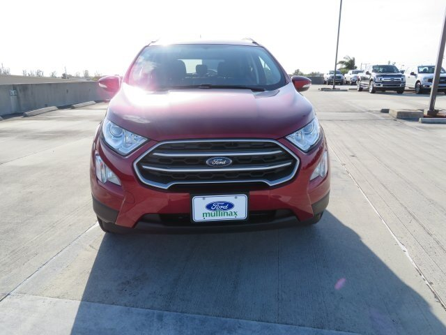 2021 Ruby Red Metallic Tinted Clearcoat Ford EcoSport SE FWD EcoBoost 1.0L I3 GTDi DOHC Turbocharged VCT Engine Automatic