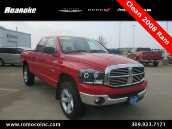 2008 Dodge Ram 1500 SLT 4X4 HEMI 5.7L V8 Multi Displacement Engine Truck 4 Door