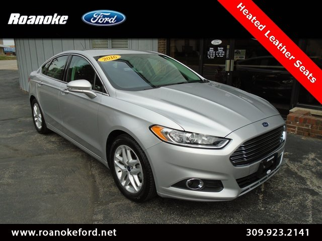 used 2016 ford fusion se fwd sedan for sale in roanoke il. Black Bedroom Furniture Sets. Home Design Ideas