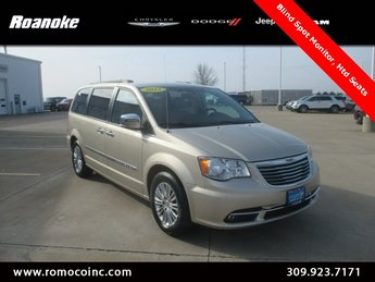 2013 Chrysler Town & Country Touring-L 4 Door Van 3.6L 6-Cylinder SMPI DOHC Engine FWD