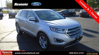Ford Edge Titanium Ecoboost  L I Gtdi Dohc Turbocharged Vct Engine Suv  Door